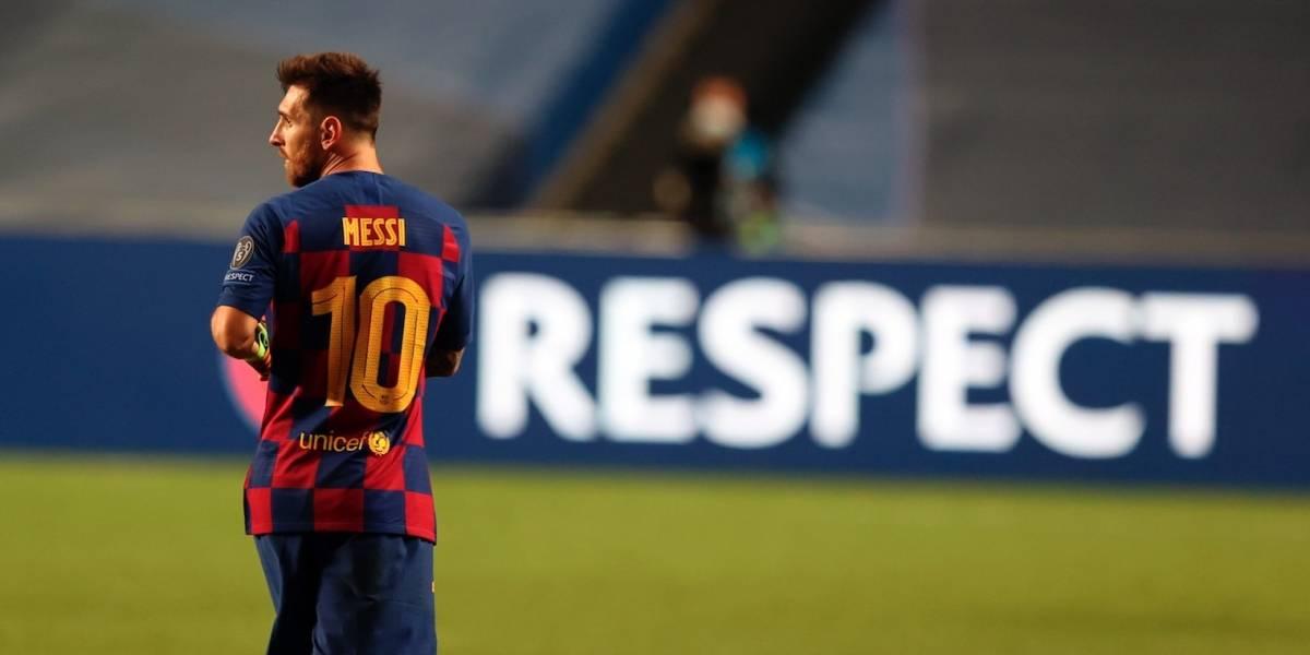 Lionel Messi y sus números con el Barcelona ¿Se irá del club?