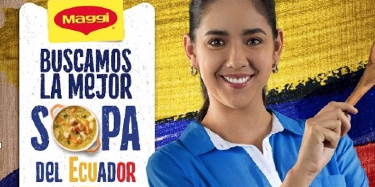 Maggi® busca la Mejor Sopa del Ecuador en concurso virtual