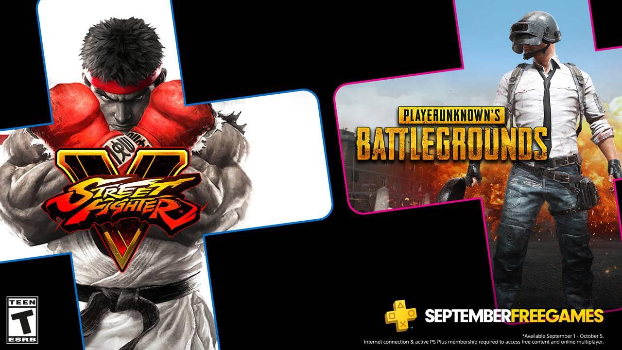 PlayStation Plus septiembre