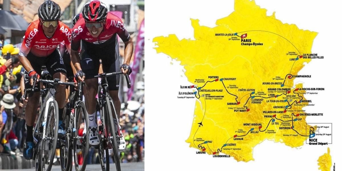 ¡Habrá de todo! El recorrido del Tour de Francia 2020 al que se enfrentarán nuestros escarabajos