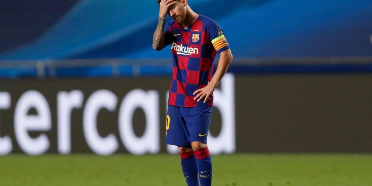 Barcelona vai tentar convencer Messi a ficar, diz diretoria
