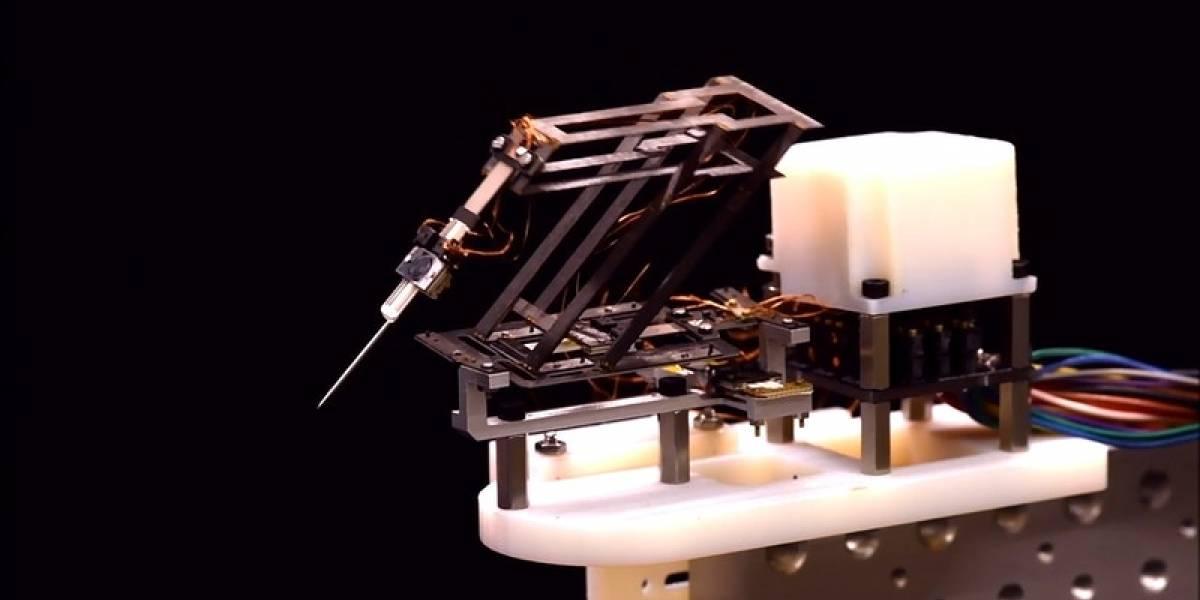 Investigadores crearon un robot para cirugías inspirado en un origami
