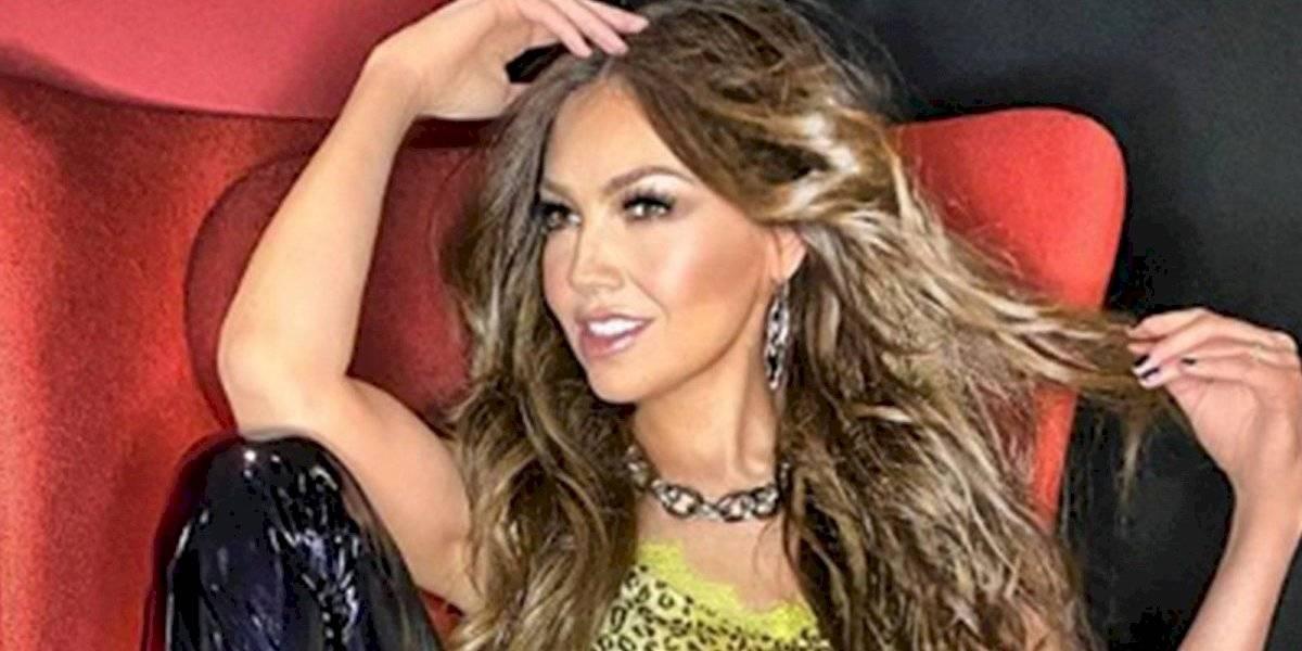 Thalía presume su cintura en ropa interior a sus 49 años  y demuestra la belleza no tiene edad
