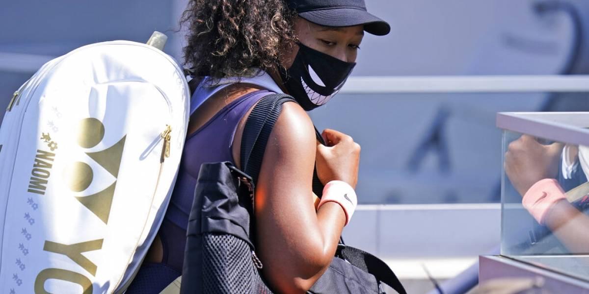 Tenista Naomi Osaka se retira de torneo en forma de protesta