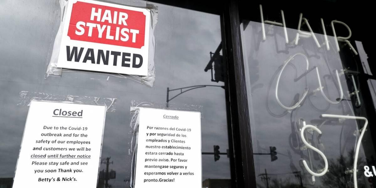 Bajan las solicitudes de ayuda por desempleo en Estados Unidos