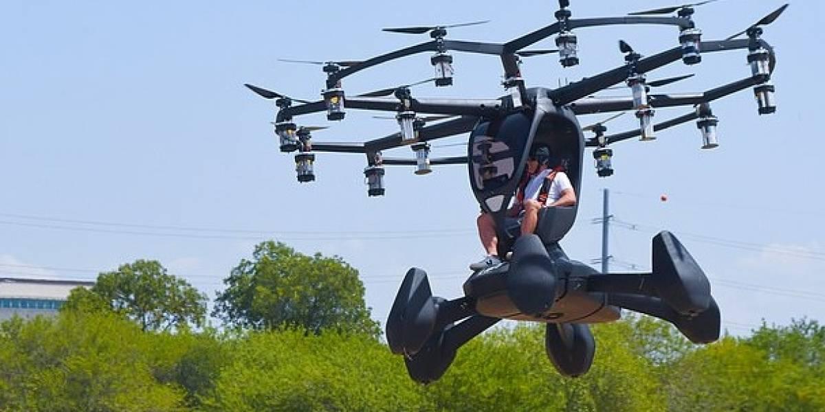 Conoce el nuevo auto volador que probó la Fuerza Aérea de los Estados Unidos