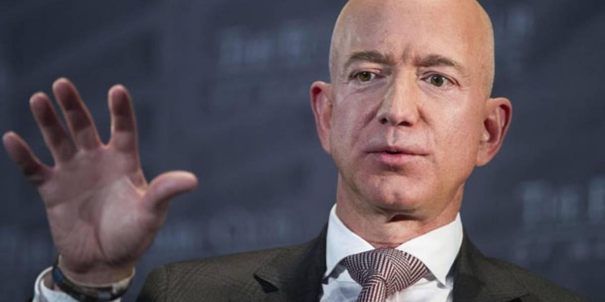 La fortuna del hombre más rico del mundo, Jeff Bezos, superó un nuevo hito histórico