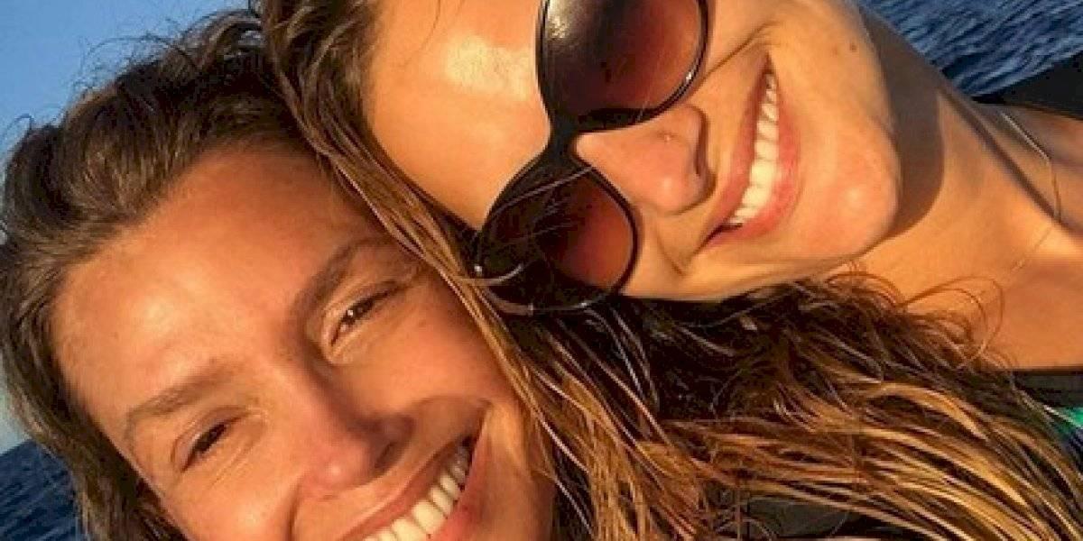 ¡Dos gotas de agua! Mayte Rodríguez y Carolina Arregui reciben lluvia de halagos en fotografía juntas