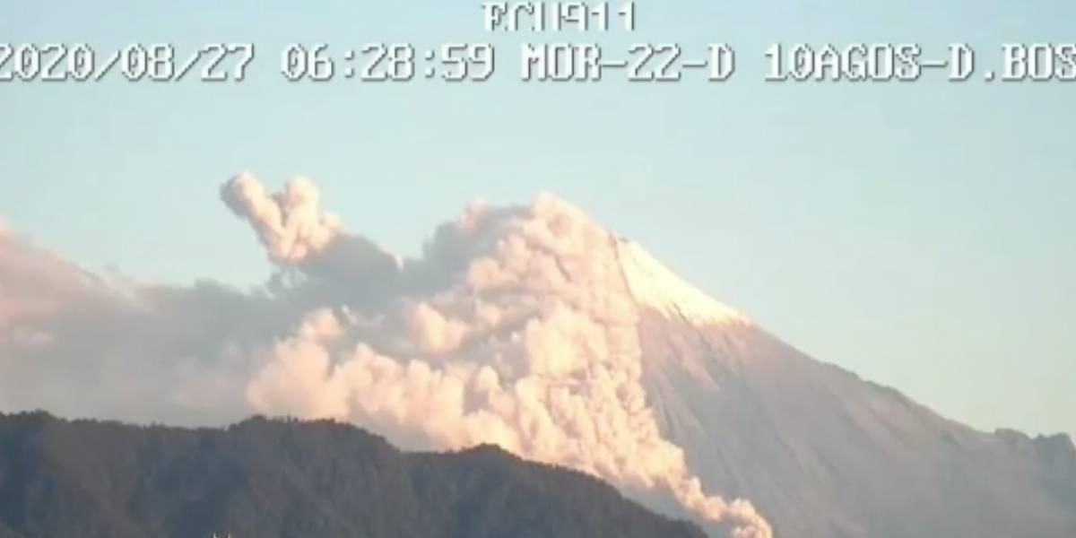 Volcán Sangay: ¿Qué hacer en caso de caída de ceniza?