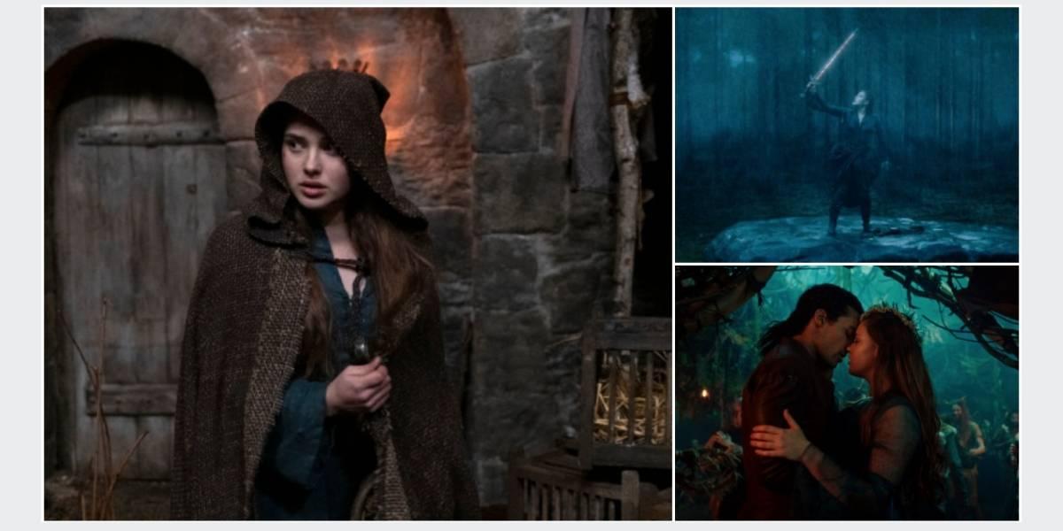 """Katherine Langford: """"'Maldita' es perfecta para los amantes de la fantasía y lo histórico"""""""