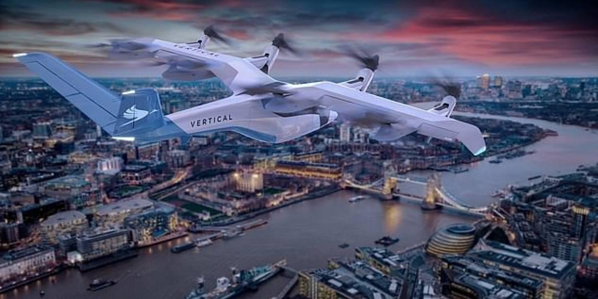 En Inglaterra están desarrollando un taxi volador que no contamina