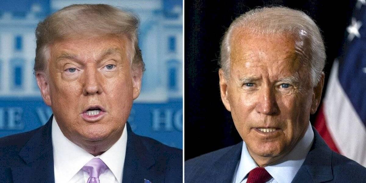 Biden aventaja a Trump en tres estados claves en la elección