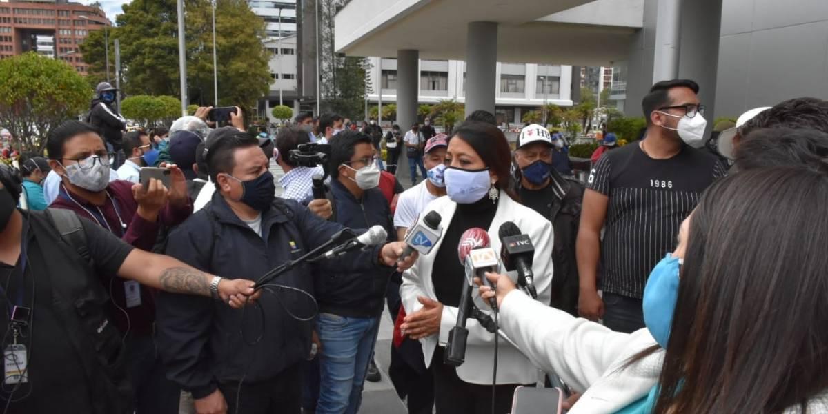 Llaman a juicio a Paola Pabón y Virgilio Hernández por el delito de rebelión