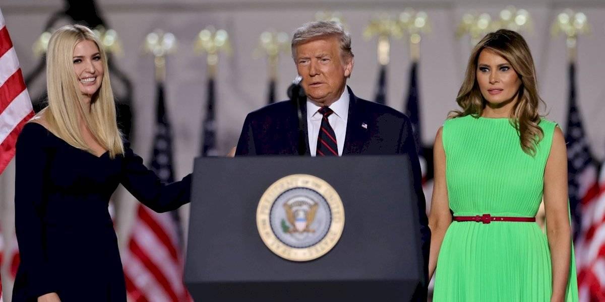 La extraña mirada de Melania a Ivanka Trump: así fue el gesto que llamó la atención de las redes sociales