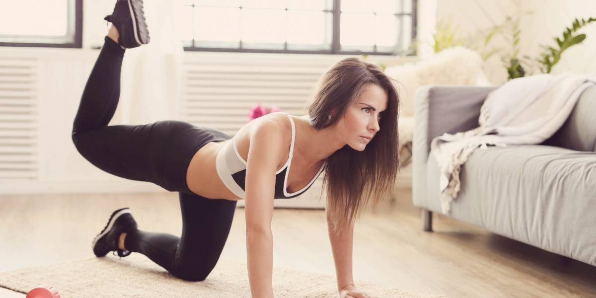 Bumbum empinado: rotina de exercícios para fazer em casa