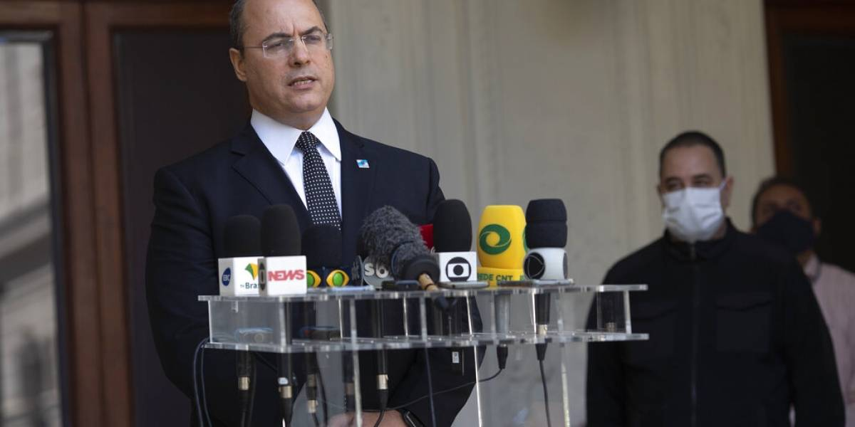 Cesan al gobernador de Río de Janeiro por irregularidades durante la pandemia