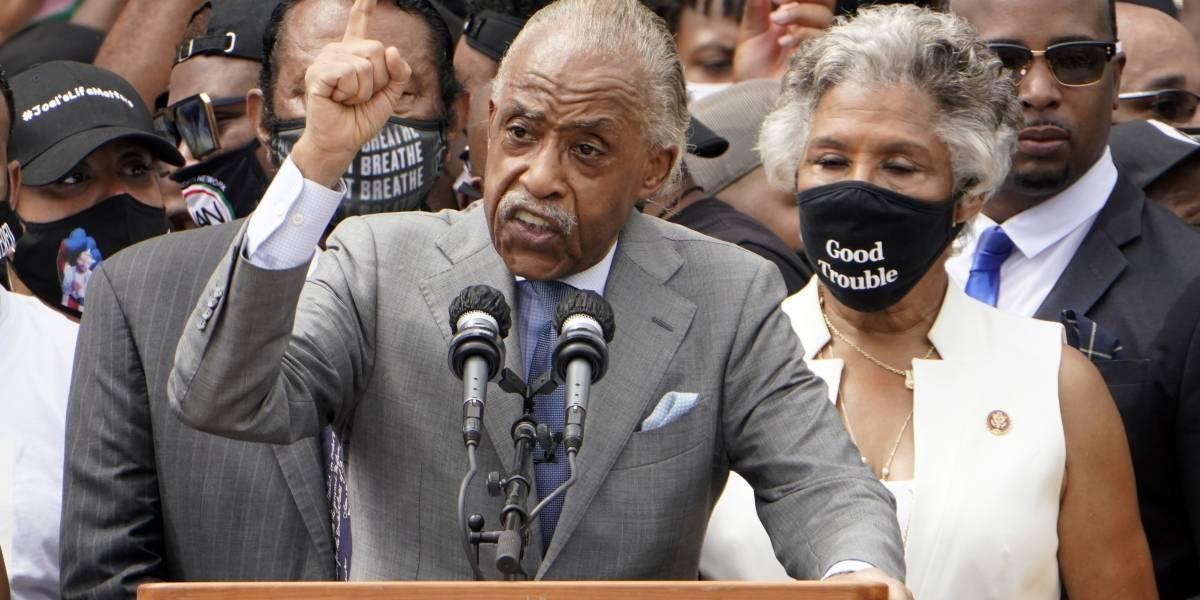 Miles se congregan en Washington por la justicia racial