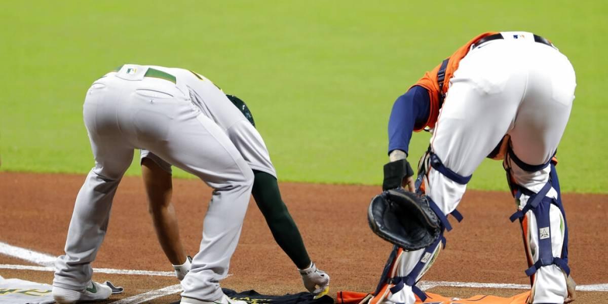 Atléticos y Astros abandonan juego, que se pospone