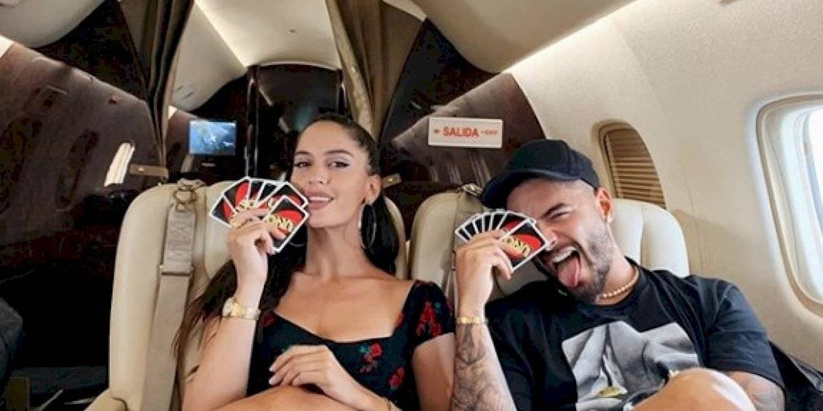 """Actual novia de Neymar rompe el silencio y asegura que su relación con Maluma fue """"tóxica"""""""