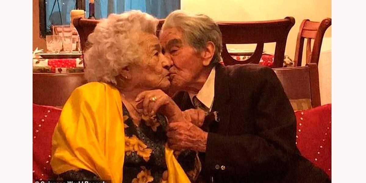 Casal mais velho do mundo completa 80 anos de casado