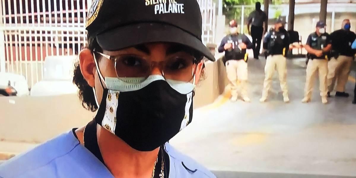 Enfermero que asistió a manifestante atropellada frente al Departamento del Trabajo envía mensaje a la Gobernadora