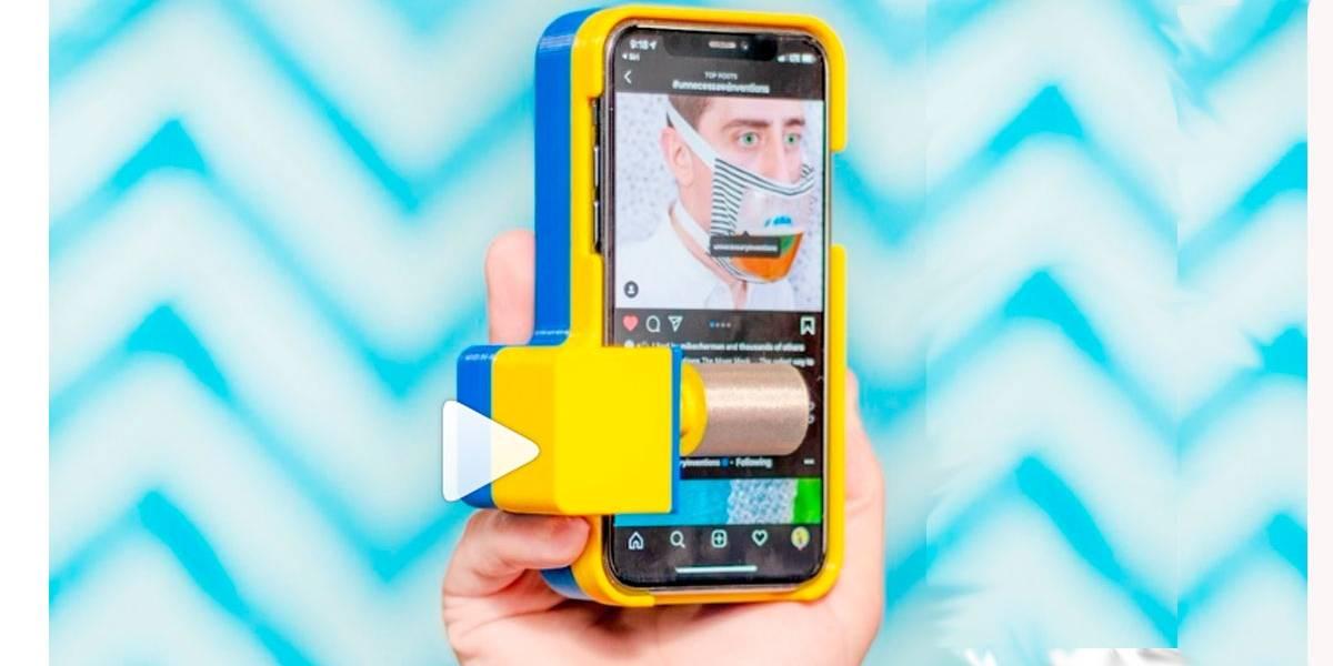 Invenções desnecessárias: rolagem automática para redes sociais