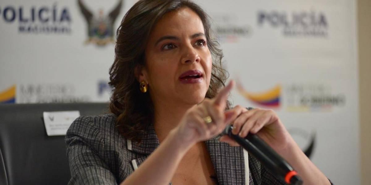 """María Paula Romo: """"La Asamblea no me perdona que haya detenido a uno de los suyos"""""""