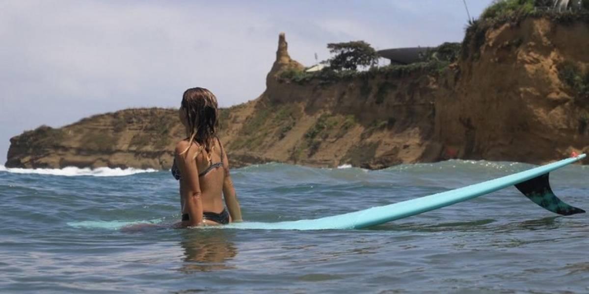 Practicar surf reduce un 20% el nivel de estrés