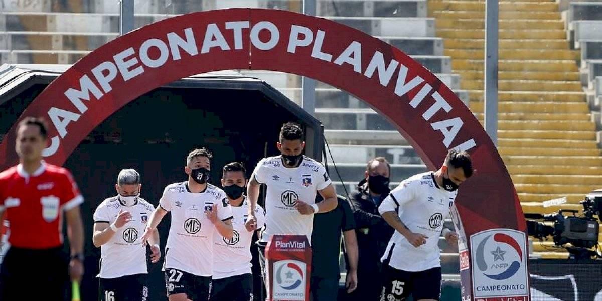 """Colo Colo cae ante Santiago Wanderers en el esperado y """"virtual"""" retorno del fútbol chileno"""