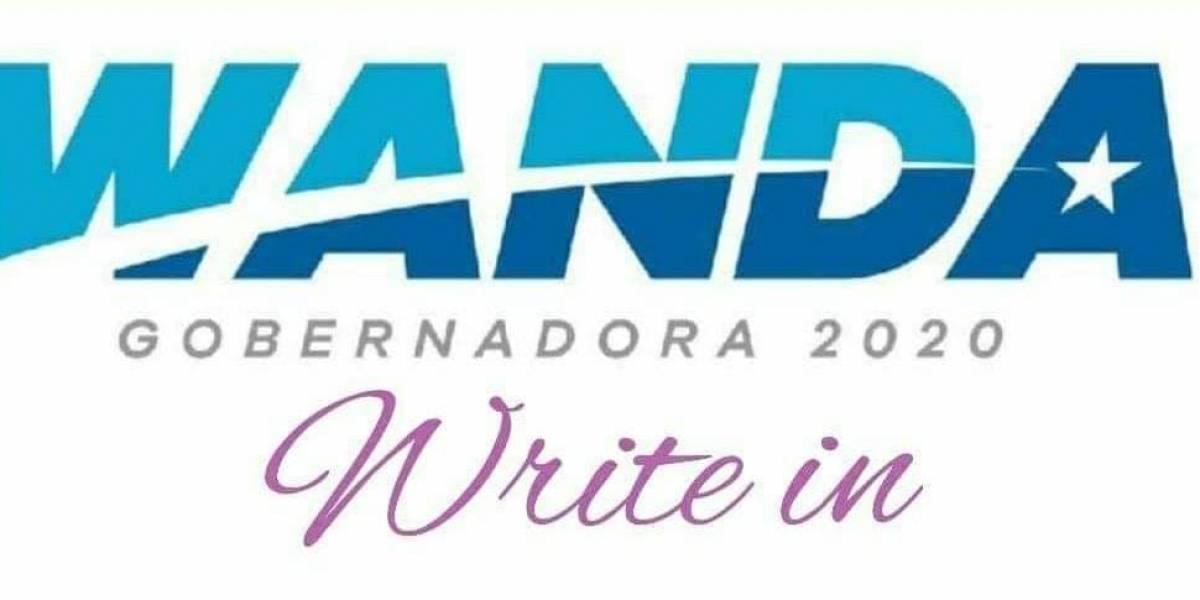 """Surge en redes movimiento para votar """"write-in"""" por Wanda Vázquez"""
