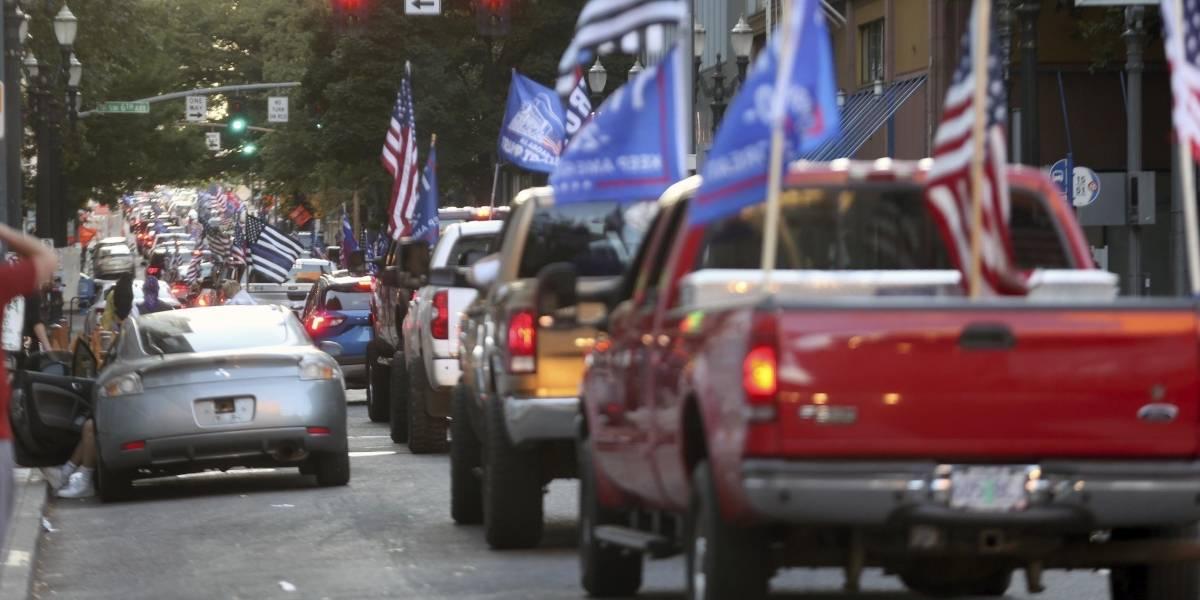 Un muerto luego de choques en protestas en Oregon