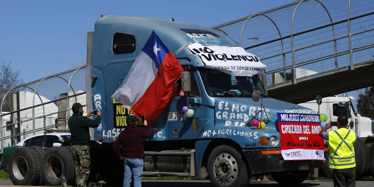 Suspenden paro de camioneros en Valparaíso: si Gobierno no cumple petitorio volverán a las calles