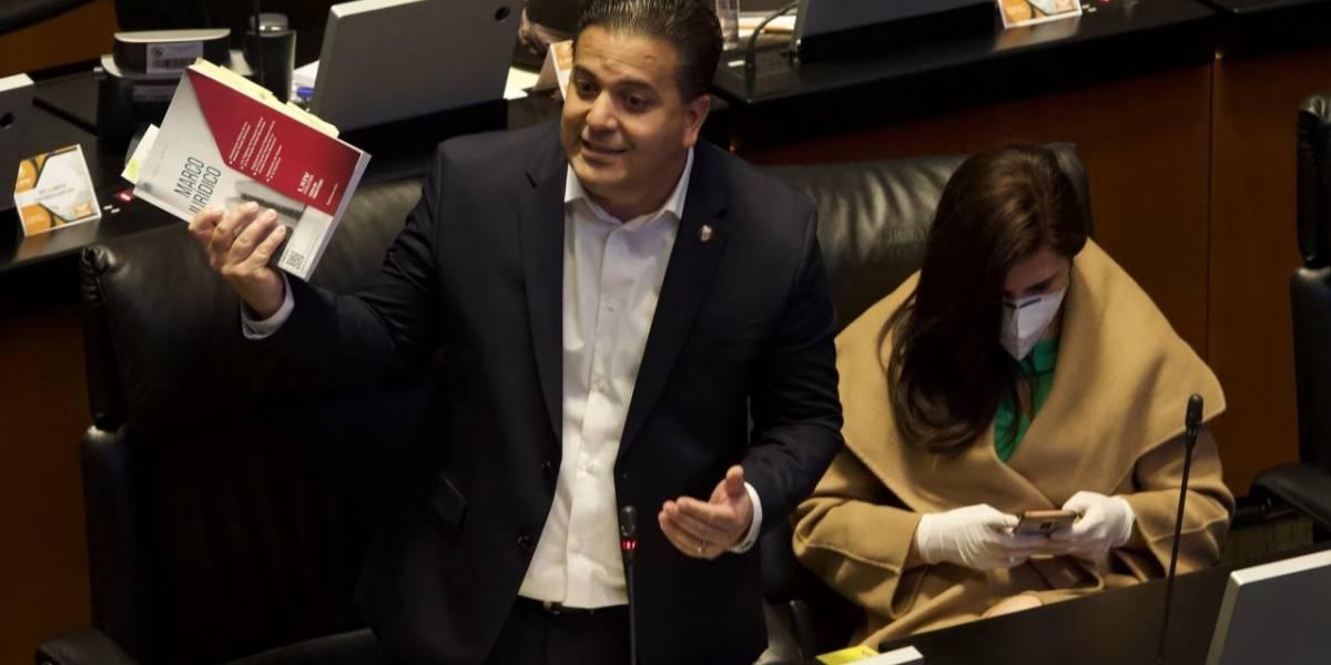 Gobierno de AMLO es una farsa, tiene al país hecho un caos: Damián Zepeda