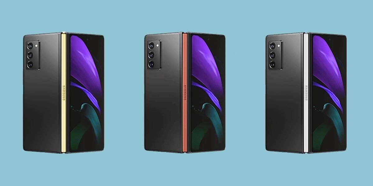 Galaxy Z Fold 2: Samsung filtra que tendrás colores a elegir en los bordes