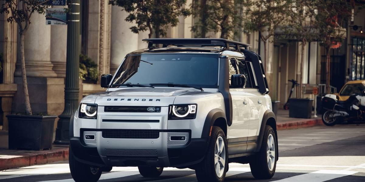 El nuevo Land Rover Defender inicia su viaje para desembarcar en Chile