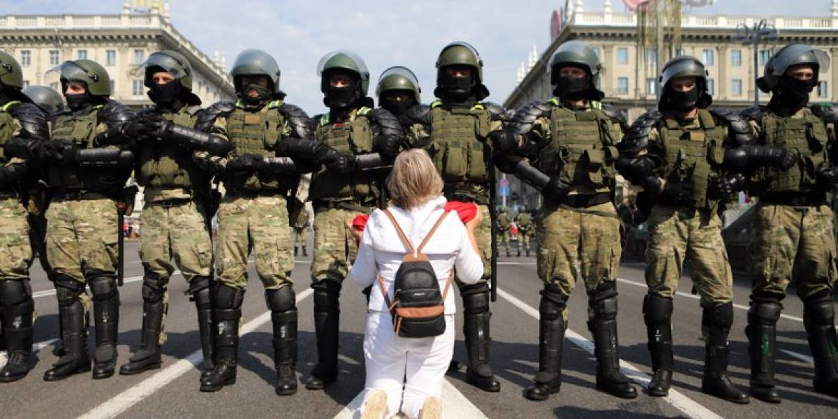 Bielorrusia endurece la represión: decenas de detenidos en nuevas protestas contra el gobierno