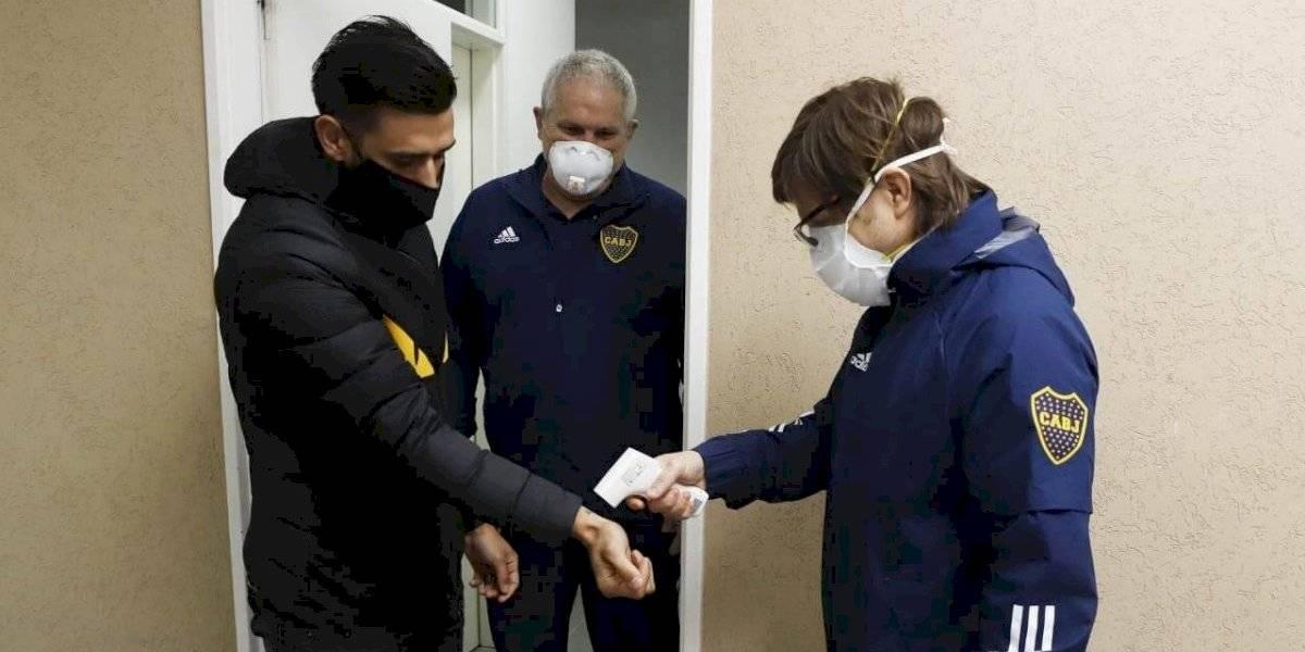 Boca Juniors entra en aislamiento tras confirmar brote de coronavirus en el plantel