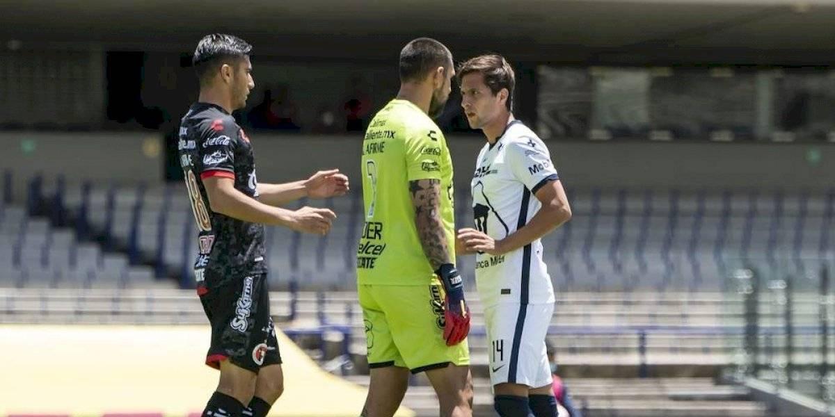 Jonathan Orozco se disculpa por agredir a jugador de los Pumas