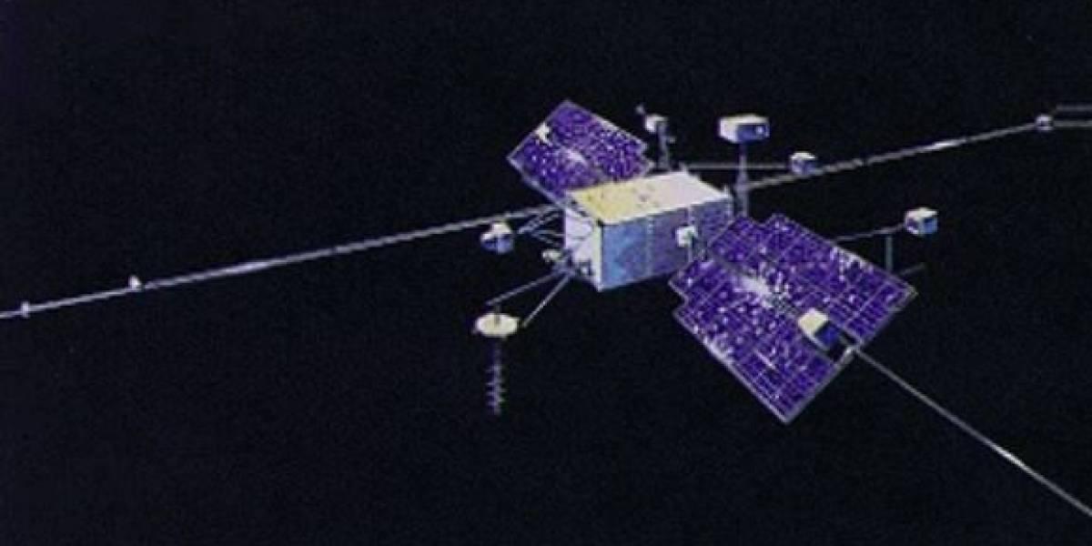 Ciencia.-Una reliquía espacial tamaño autobús se desintegra en la atmósfera