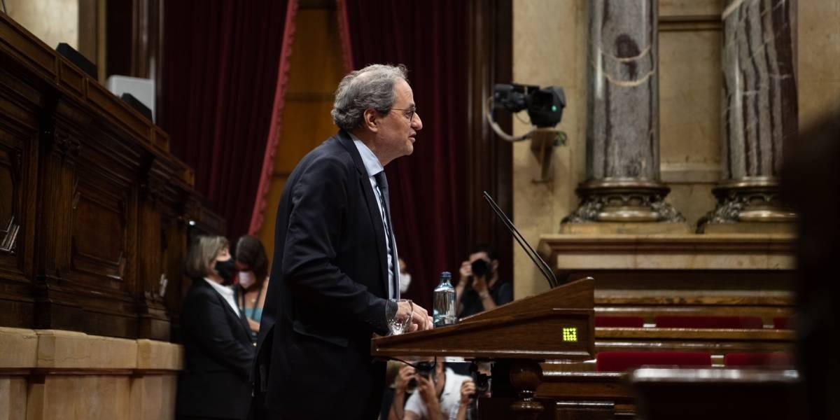 España.- Torra pide no investir a otro presidente si es inhabilitado por el Supremo