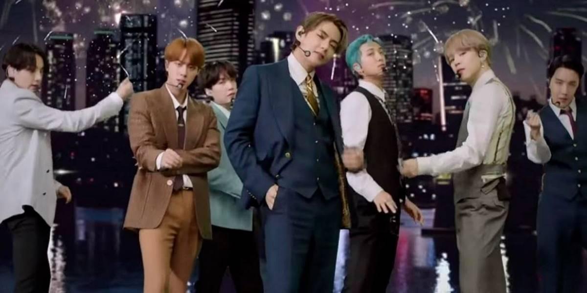 Cultura.- BTS debuta a lo grande en los MTV VMAs con su Dynamite