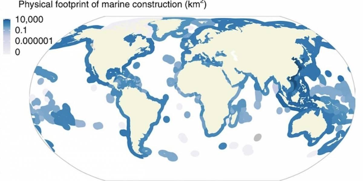 Ciencia.-Unos 30.000 kilómetros cuadrados de océano, alterados por el ser humano