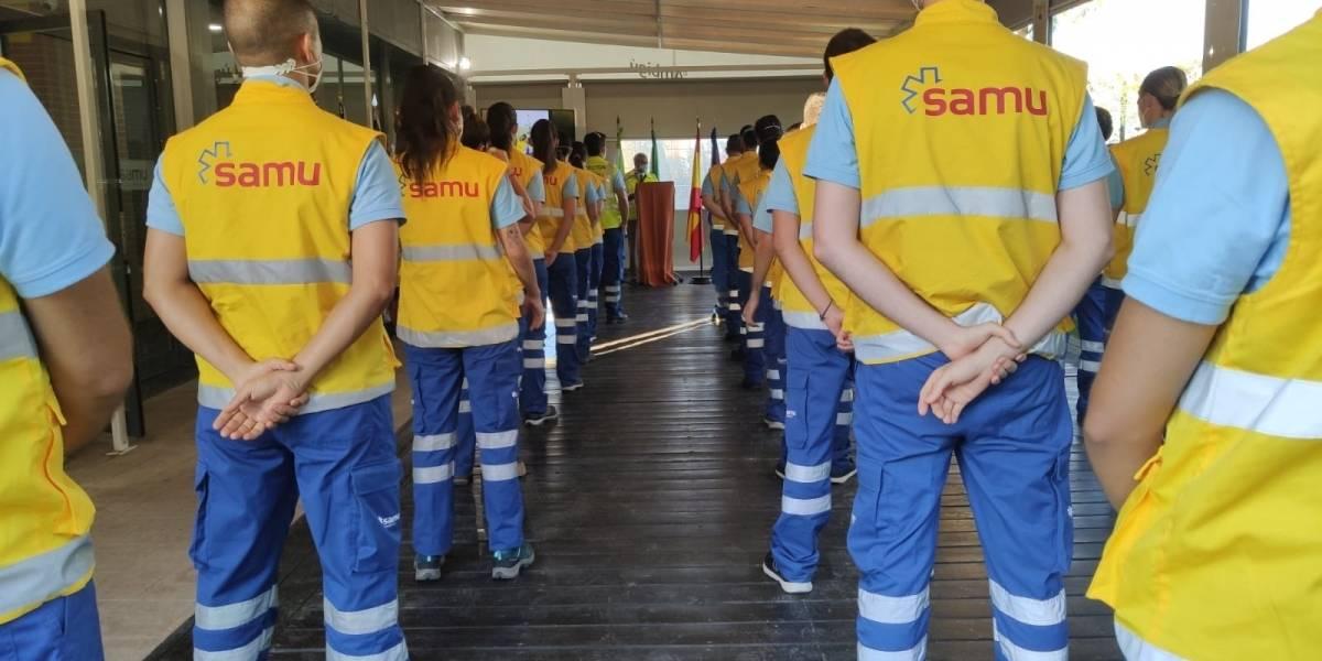 El Salvador.- Homenajeados los 28 voluntarios de la 'Misión El Salvador' de SAMU de apoyo a sanitarios y población con Covid