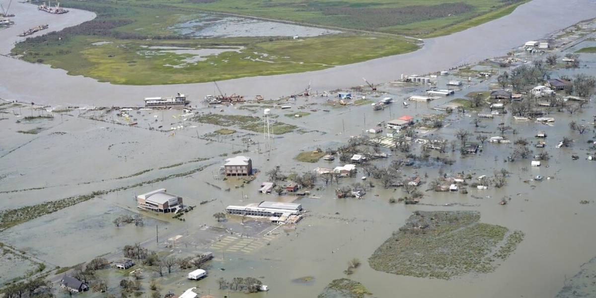 Migrantes detenidos en Luisiana piden ayuda tras el huracán