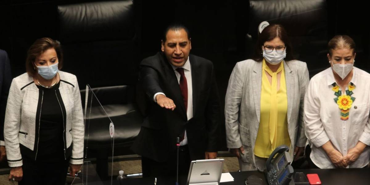 Senado elige a Óscar Eduardo Ramírez como presidente de la Mesa Directiva