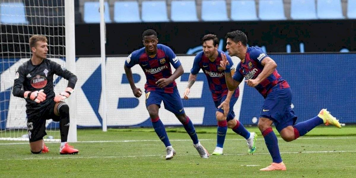 Jugadores del Barcelona realizaron fiesta en casa de Luis Suárez