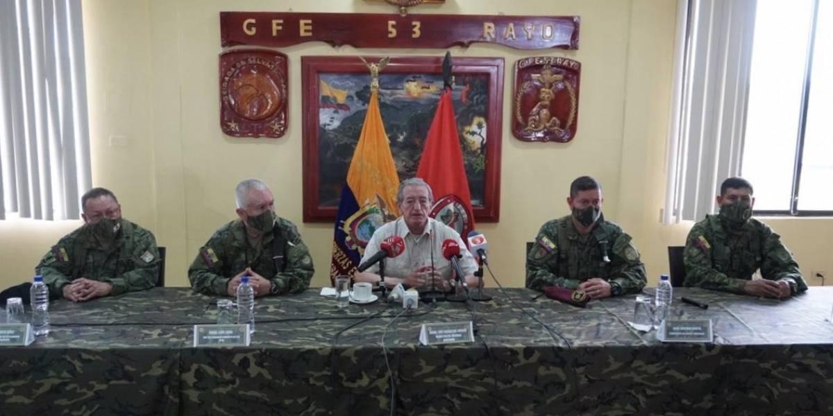Oswaldo Jarrín advierte de la infiltración de grupos ilegales desde Colombia