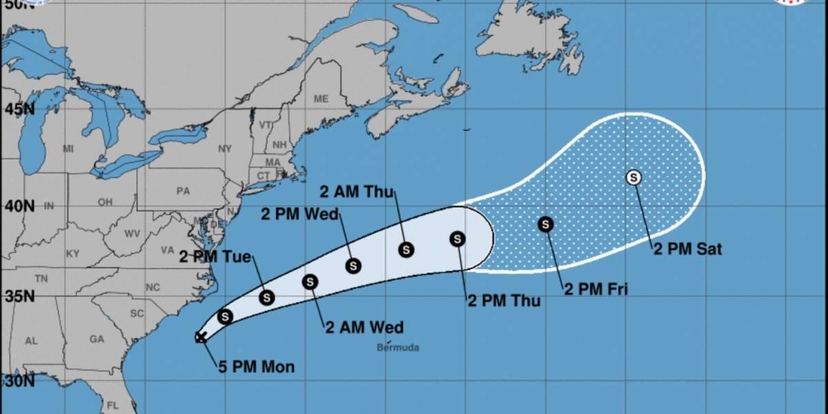 Se forma la depresión tropical 15 de la temporada de huracanes