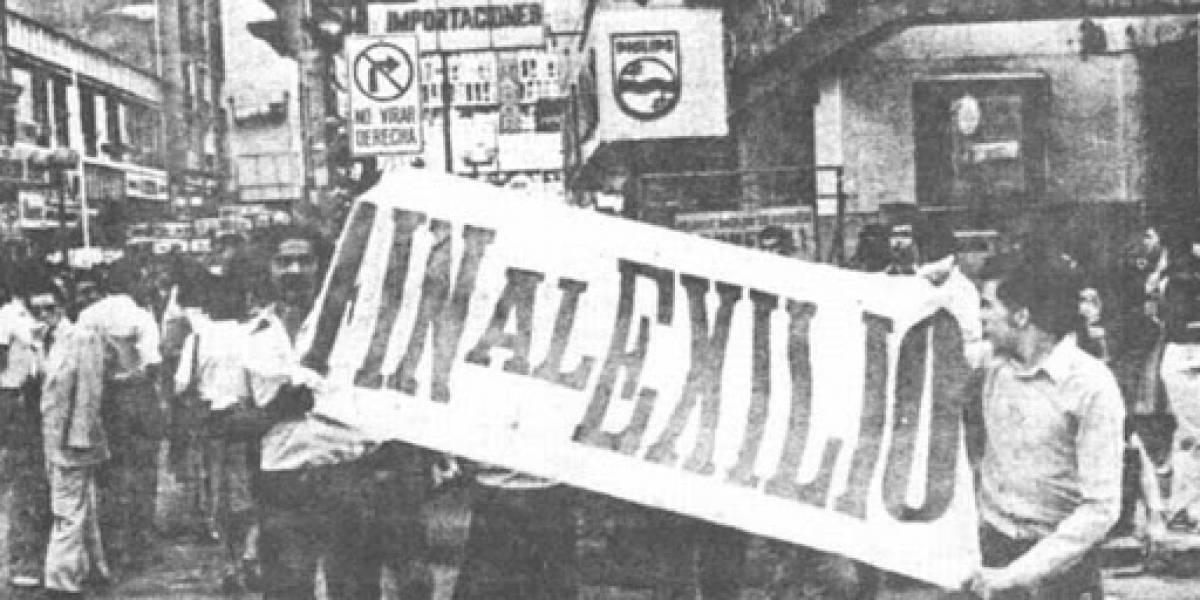 UN DÍA EN LA HISTORIA (1 de septiembre de 1988):  El fin del exilio para miles de chilenos