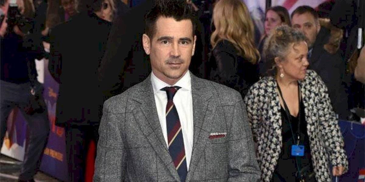 Nadie era capaz de reconocer a Colin Farrell caracterizado como El Pingüino